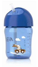 Philips Avent Straw Cup 260ml - 12 months Blue