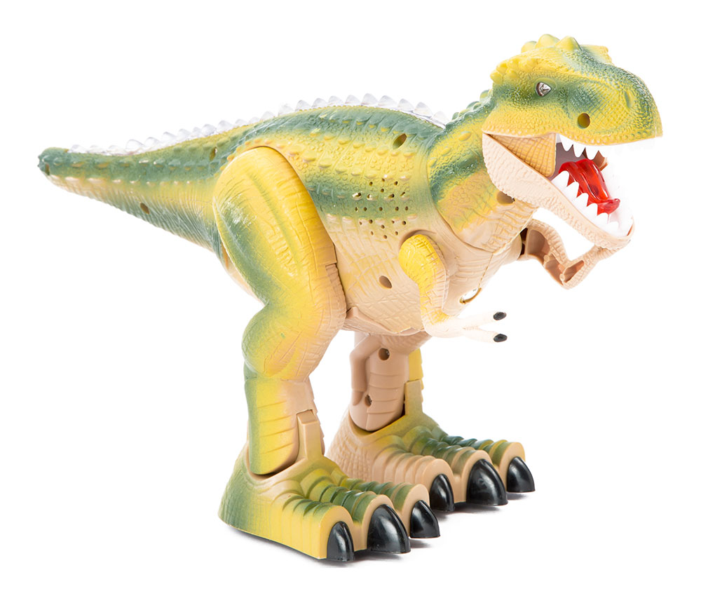 Buy Remote Control Dinosaur With Light And Sound Green