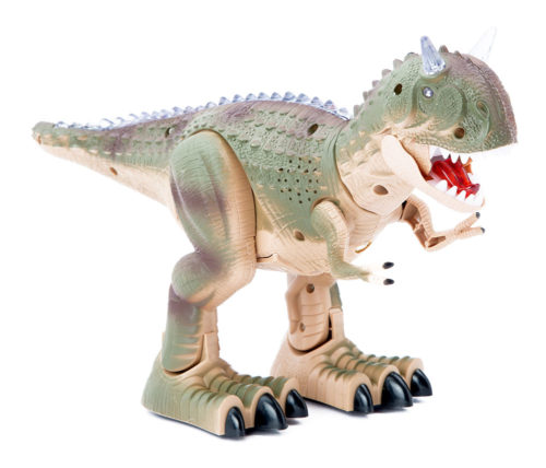 Buy Remote Control Dinosaur With Light And Sound Grey