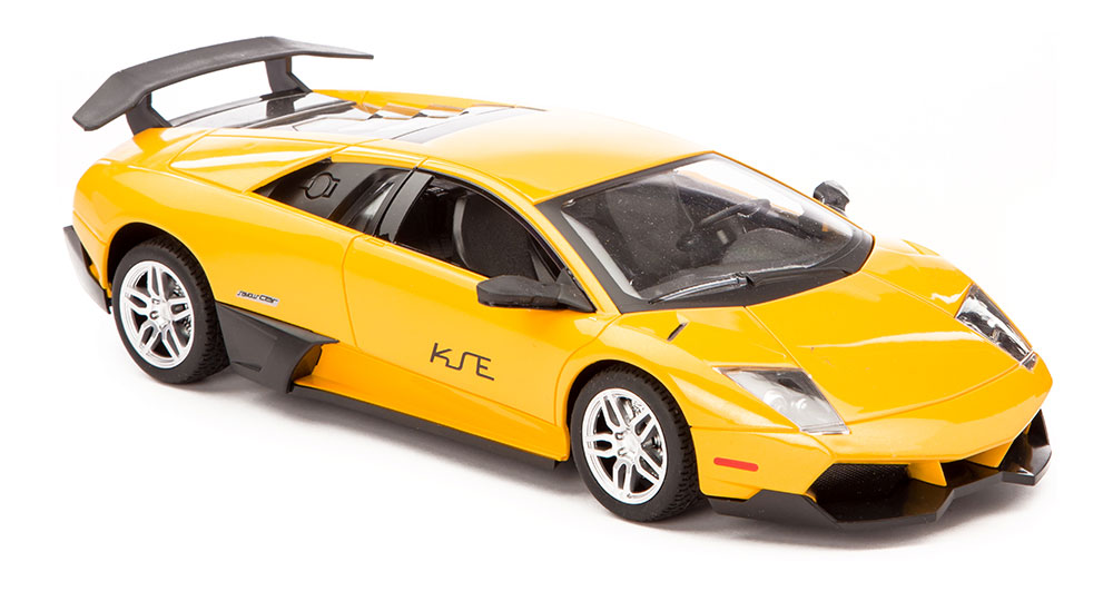 Buy Remote Control Ferrari With High Speed Yellow Online