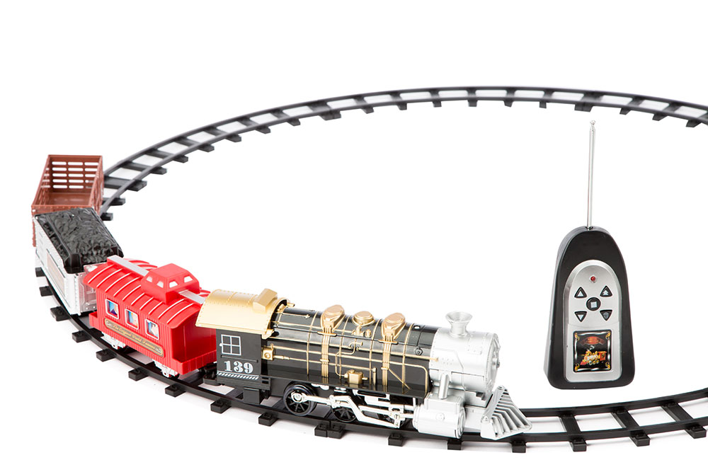 Buy Remote Control Toy Train Set With Light And Sound