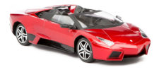 Showpower Friction Car - Red