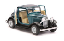 1932 Ford 3-Window Coupe Vintage Scale Model 1/34 Green