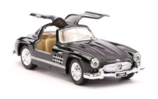 1954 Mercedes Benz 300SL Scale Model 1/36 - Black