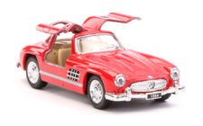 1954 Mercedes Benz 300SL Scale Model 1/36 - Red
