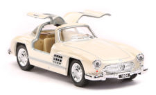 1954 Mercedes Benz 300SL Scale Model 1/36 - Silver