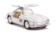 1954 Mercedes Benz 300SL Scale Model 1/36 - White