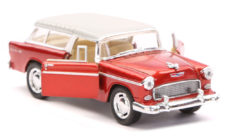 1955 Chevy Nomad Scale Model 1/40 Dark Red