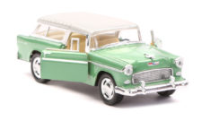 1955 Chevy Nomad Scale Model 1/40 Green