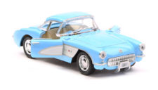1957 Chevrolet Corvette Scale Model 1/34 Blue