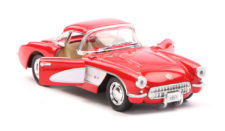 1957 Chevrolet Corvette Scale Model 1/34 Red