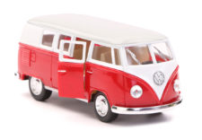 1962 Volkswagen Classical Bus Scale Model 1/32 - Red