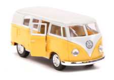 1962 Volkswagen Classical Bus Scale Model 1/32 - Yellow