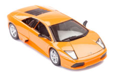 2007 Lamborghini Murcielago LP 640 Special Edition Scale Model 1/18 Orange