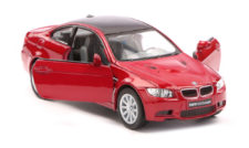2009 BMW M3 Coupe Scale Model 1/36 Dark Red