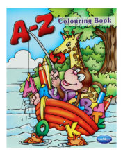 Navneet A-Z Colouring Book