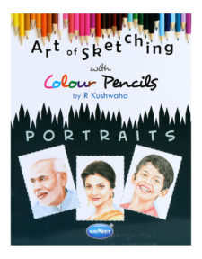 Navneet Art Of Skecthing With Colour Pencils - Portraits