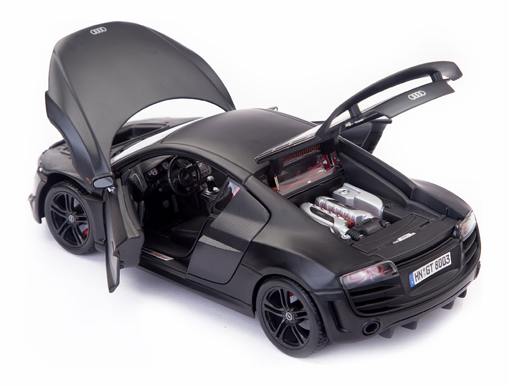 Buy Audi R8 Gt Matte Black Premiere Edition Scale Model 1