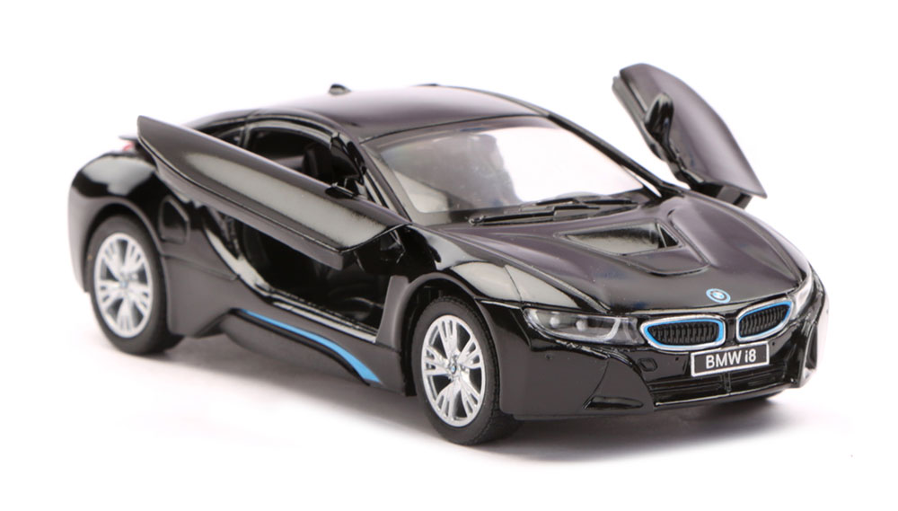 Buy Bmw I8 Scale Model 1 36 Black Online In India Kheliya Toys