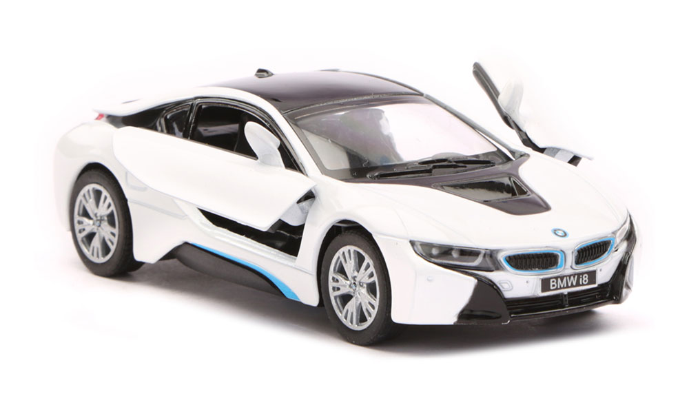 buy bmw i8 scale model 1 36 white black online in india kheliya toys