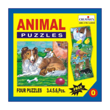 Creatives Animal Puzzle 0