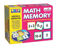 Creatives Math Memory Addition Subtraction