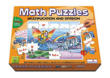 Creatives Math Puzzle -Multiplication & Division