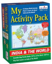Creatives My Activity Pack India & The World
