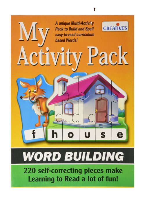 Creatives My Activity Pack Word Building