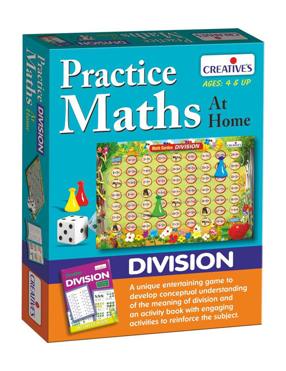 Buy Creatives Practice Math At Home Division Online In India ...
