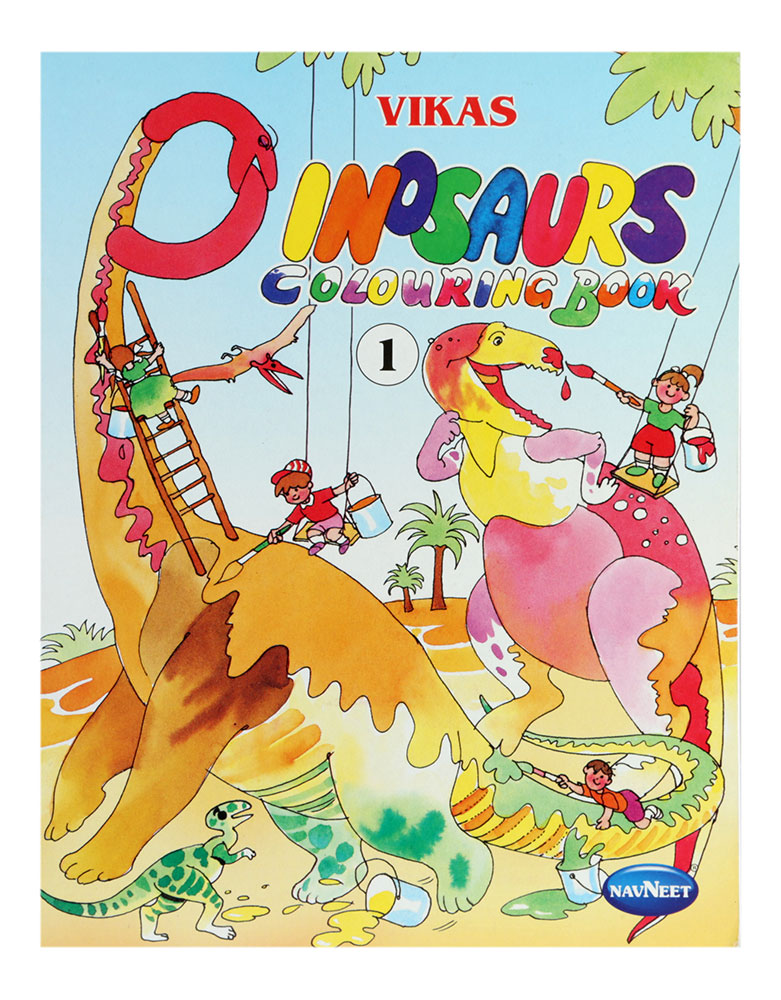 Buy Navneet Dinosaurs Colouring Book Part-1 Online In India ...