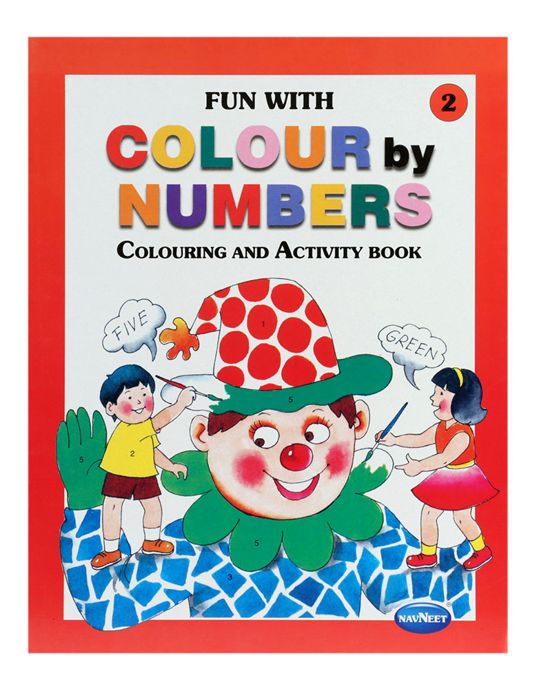 navneet fun with colour by numbers part 2 - Fun Pictures To Colour In 2