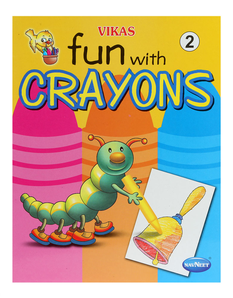 buy navneet fun with crayons part 2 online in india kheliya toys