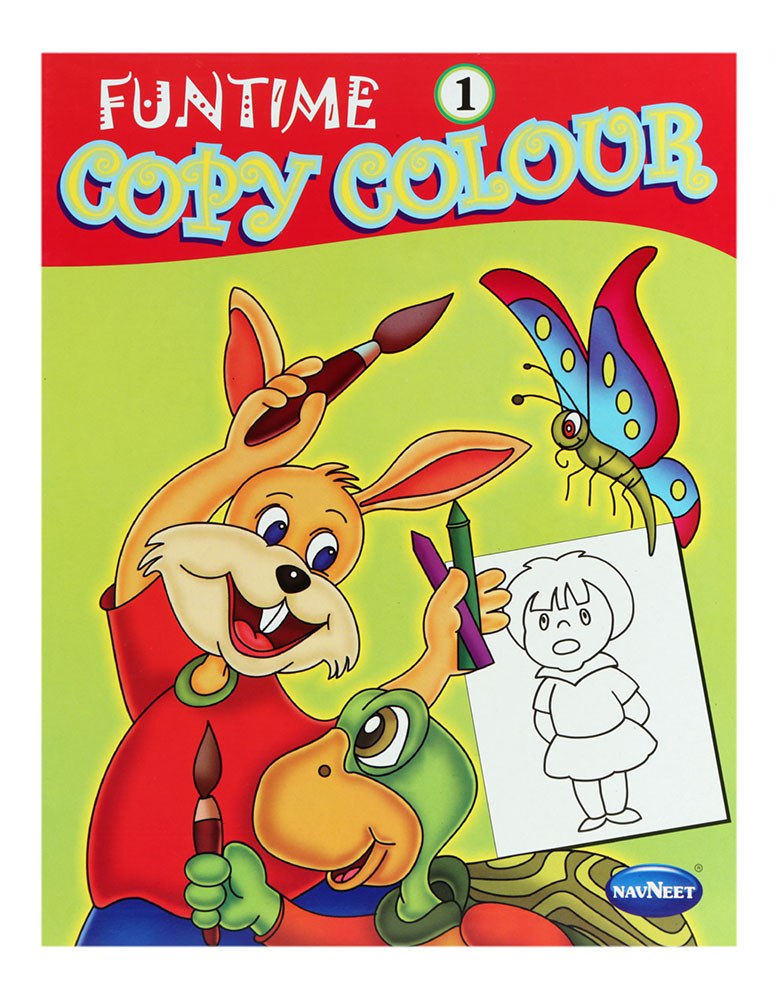 Buy Navneet Funtime Copy Colour Book Part-1 Online In India ...