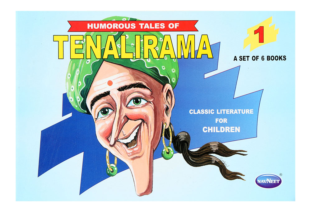 Buy Navneet Humorous Tales Of Tenalirama Part-1 English Online In India •  Kheliya Toys