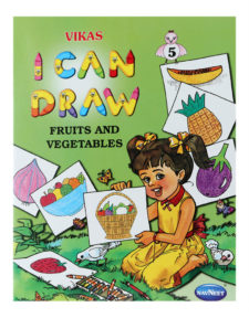 Navneet I Can Draw - The Fruits And Vegetables