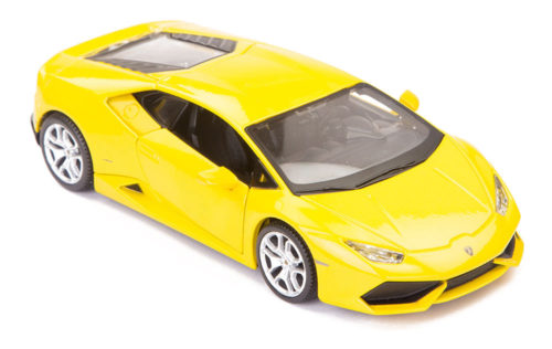 Lamborghini Huracan LP 610-4 Scale Model 1/24 Yellow