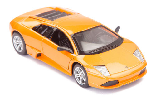 Lamborghini Murcielago LP640 Scale Model 1/24 Orange