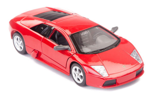 Lamborghini Murcielago LP640 Scale Model 1/24 Red
