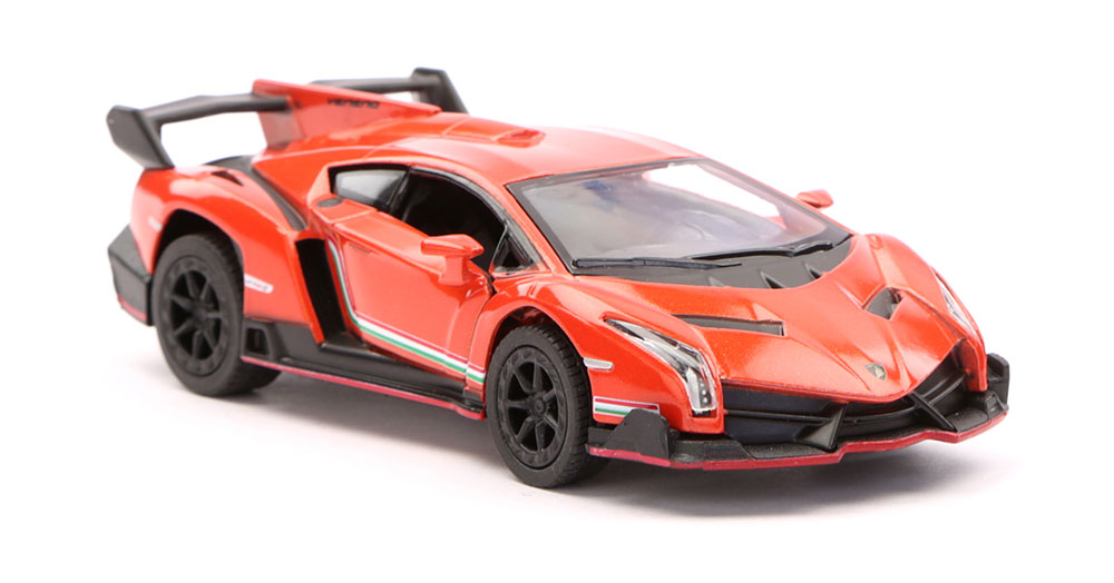 Buy Lamborghini Veneno Scale Model 1/36 - Orange Online In India ...