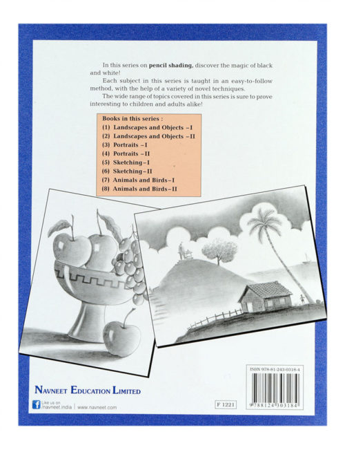 Navneet Learn Pencil Shading Landscapes And Objects Part-1