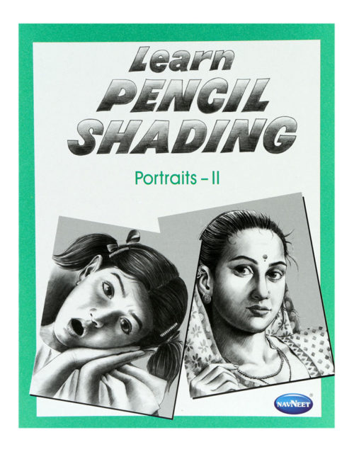 Navneet Learn Pencil Shading Portraits Part-2