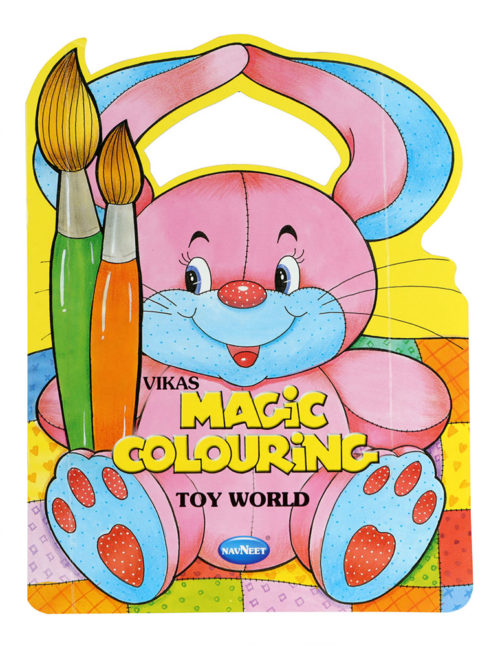 Navneet Magic Colouring - Toy World