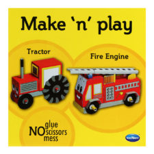 books Make N Play Tractor & Fire Engine