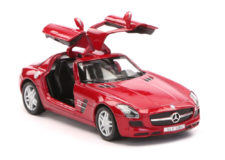 Mercedes Benz SLS AMG Scale Model 1/36 - Red