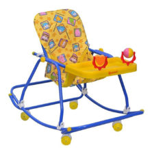 Mothertouch 3-In-1 Walker Yellow