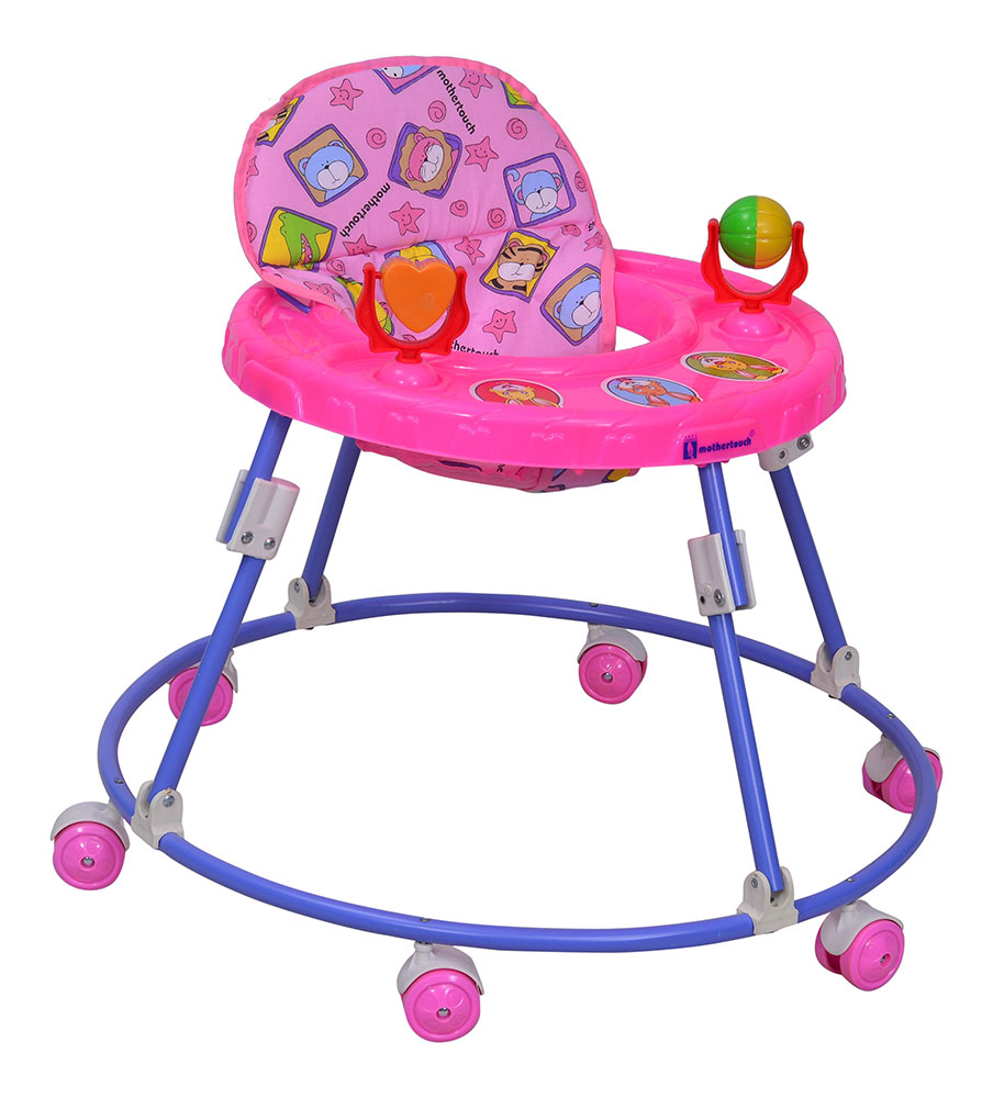 Buy Mothertouch Round Walker Pink Online In India