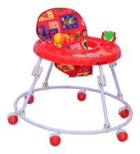 Mothertouch Round Walker Red