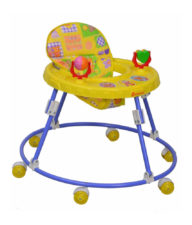 Mothertouch Round Walker Yellow