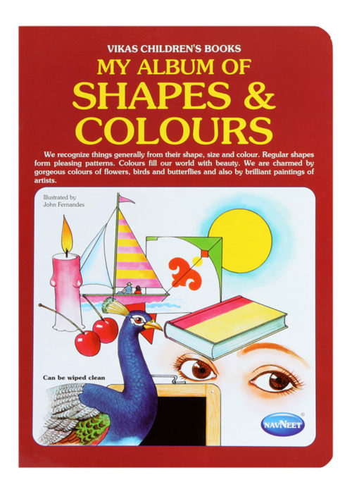 Navneet My Album Of Shapes And Colours